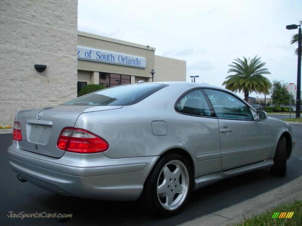 2001 mercedes benz clk 430 coupe in brilliant silver for Mercedes benz millenia