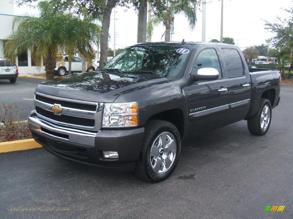 2011 chevrolet silverado 1500 lt crew cab in taupe gray metallic 217609 jax sports cars. Black Bedroom Furniture Sets. Home Design Ideas