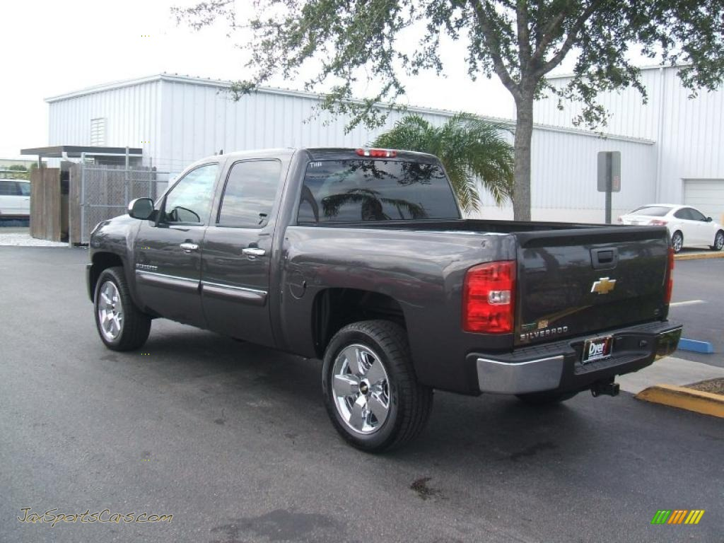 2011 chevrolet silverado 1500 lt crew cab in taupe gray metallic photo 2 217609 jax sports. Black Bedroom Furniture Sets. Home Design Ideas