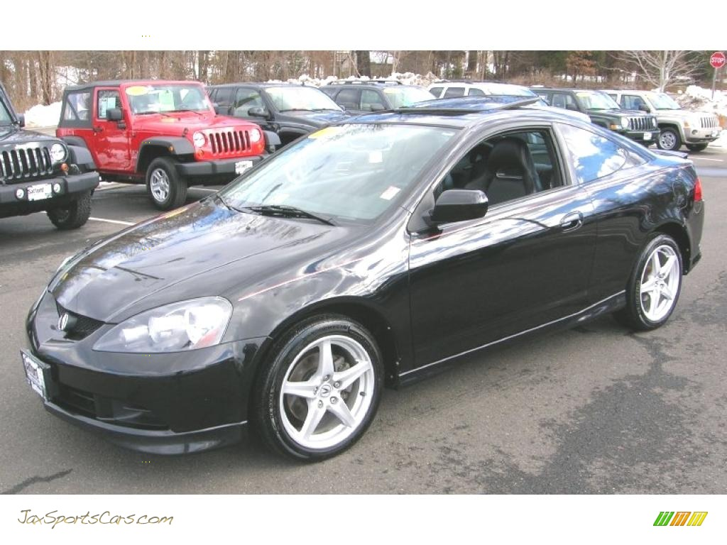 2006 Acura RSX Type S Sports Coupe in Nighthawk Black Pearl - 022111 ...