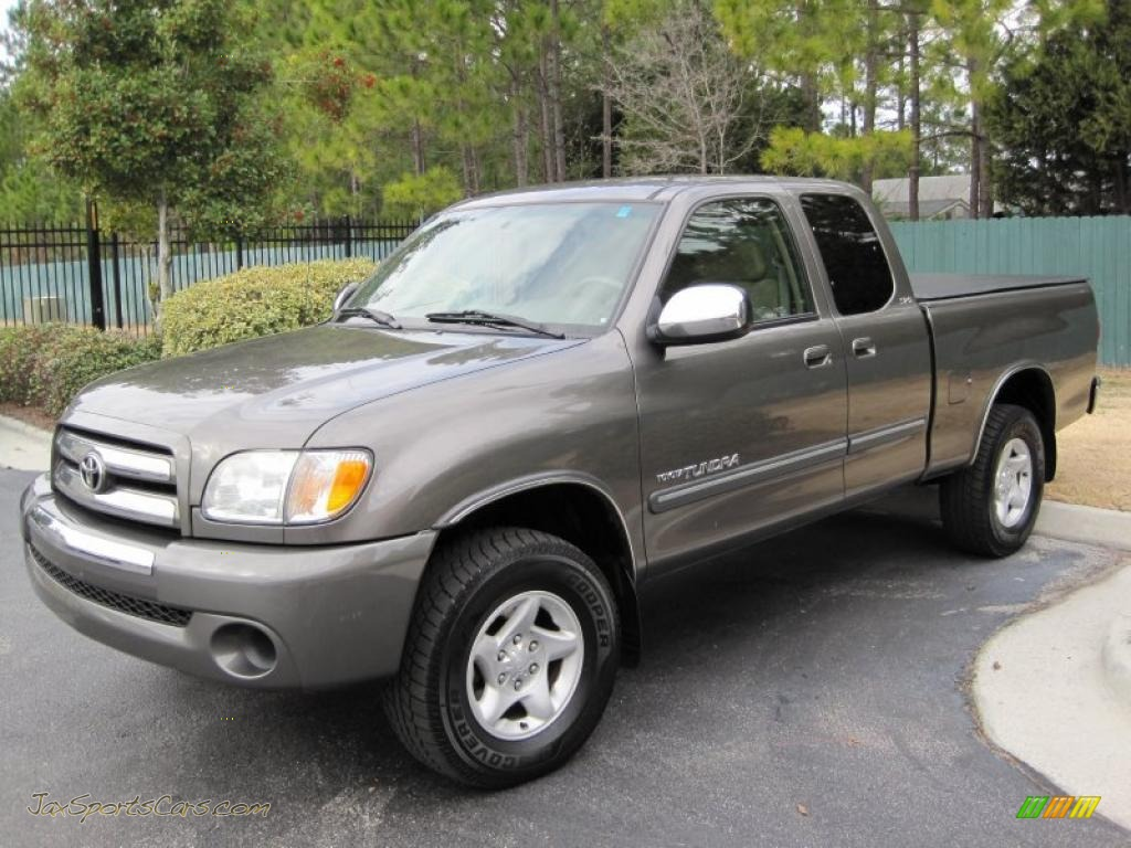 2003 Toyota Tundra Sr5 Access Cab 4x4 In Phantom Gray