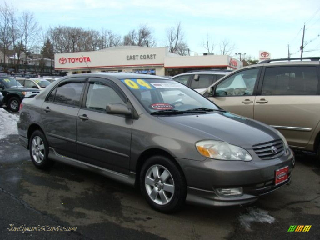 2004 toyota corolla s in moonshadow gray metallic 297584. Black Bedroom Furniture Sets. Home Design Ideas