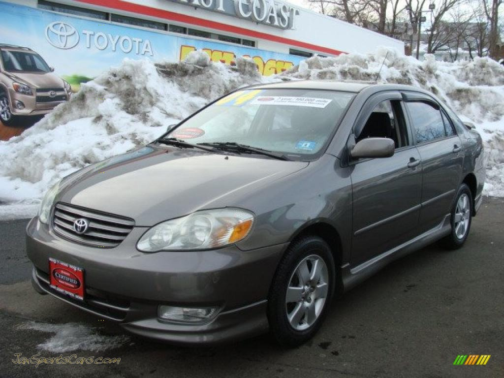 2004 toyota corolla s in moonshadow gray metallic photo 3. Black Bedroom Furniture Sets. Home Design Ideas