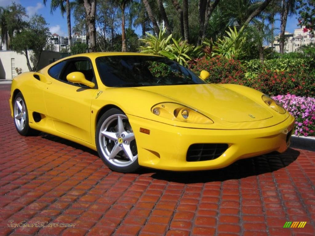 Fly Yellow / Black Ferrari 360 Modena
