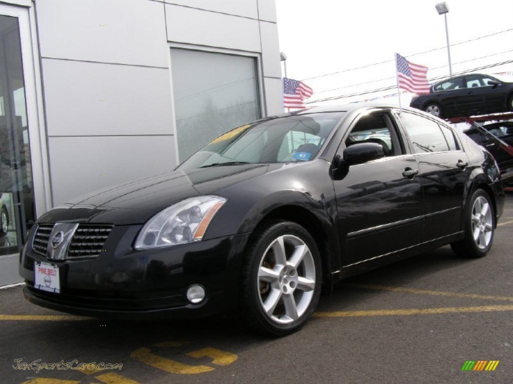 2006 nissan maxima 3 5 se in onyx black 836253 jax sports cars cars for sale in florida. Black Bedroom Furniture Sets. Home Design Ideas