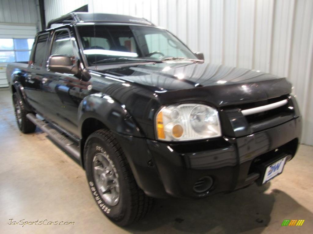 Nissan nissan frontier 2004 : 2004 Nissan Frontier XE V6 Crew Cab 4x4 in Super Black - 449447 ...