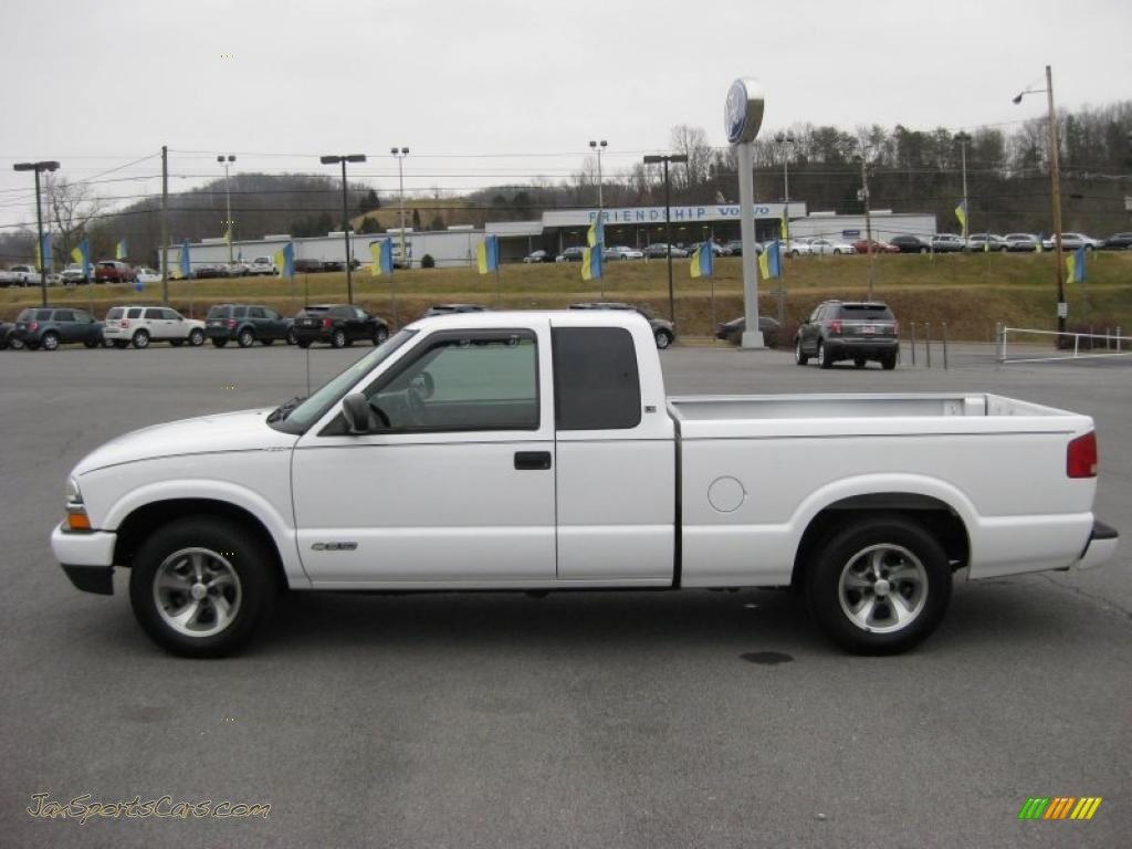 2003 chevrolet s10 ls extended cab in summit white 237882 jax sports cars cars for sale in. Black Bedroom Furniture Sets. Home Design Ideas