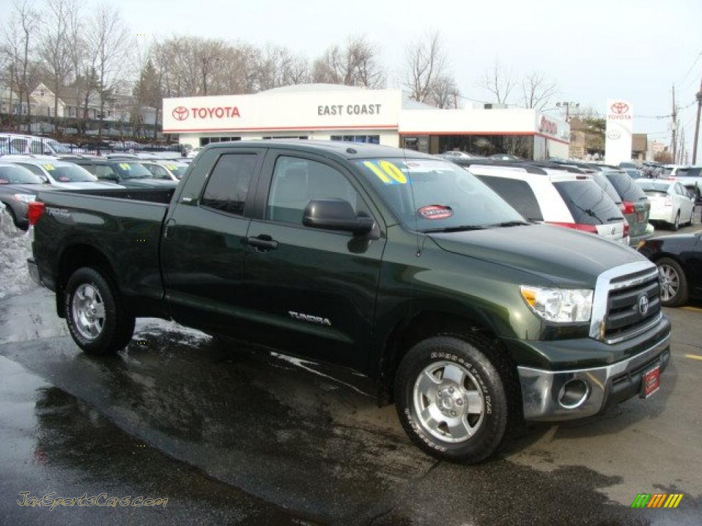 2010 Toyota Tundra Trd Double Cab 4x4 In Spruce Green Mica