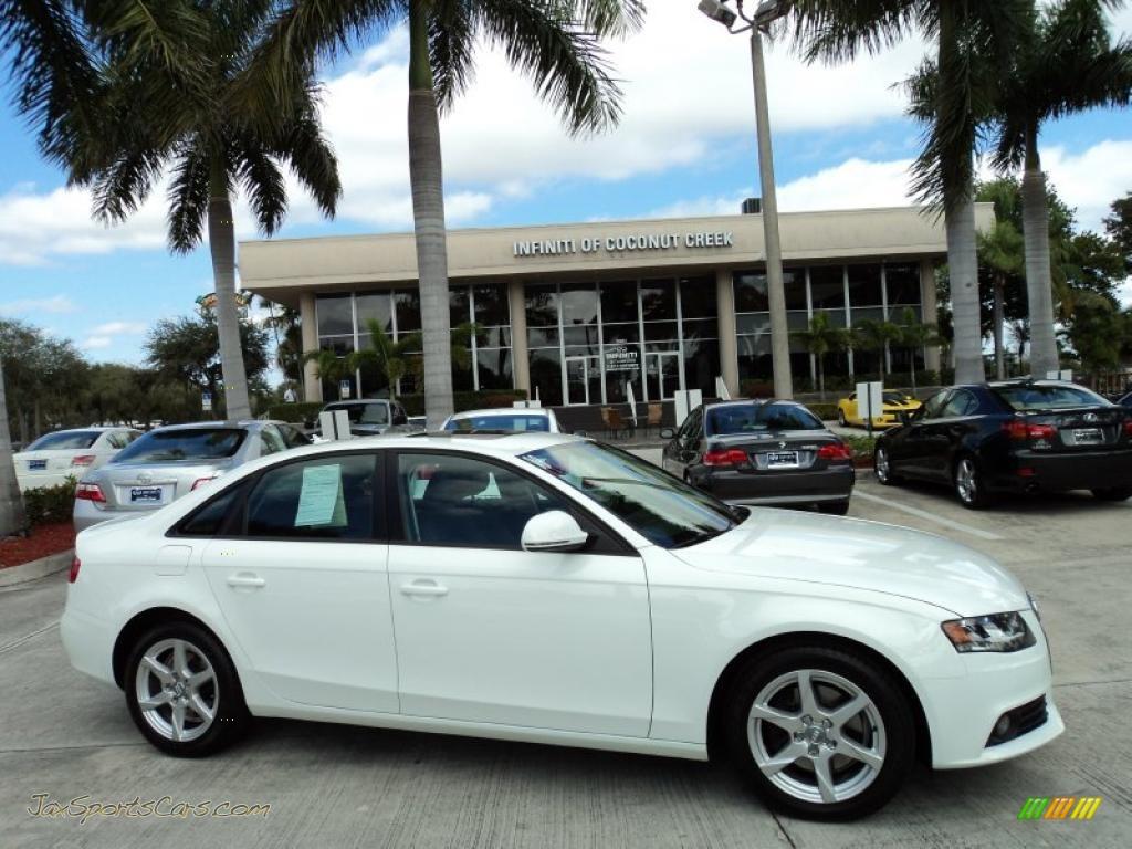 2009 audi a4 2 0t premium quattro sedan in ibis white 026758 jax sports cars cars for sale. Black Bedroom Furniture Sets. Home Design Ideas