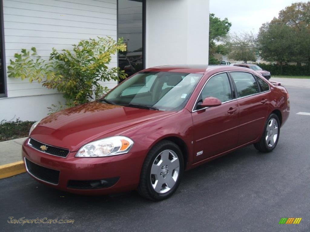 2006 chevrolet impala ss in sport red metallic 234990. Black Bedroom Furniture Sets. Home Design Ideas