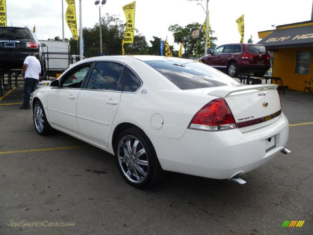 2006 chevrolet impala lt in white photo 4 164392 jax. Black Bedroom Furniture Sets. Home Design Ideas