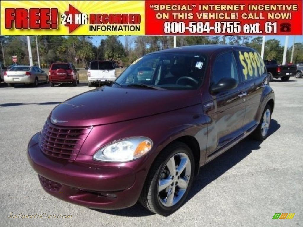 2003 Chrysler Pt Cruiser Gt In Deep Cranberry Pearl