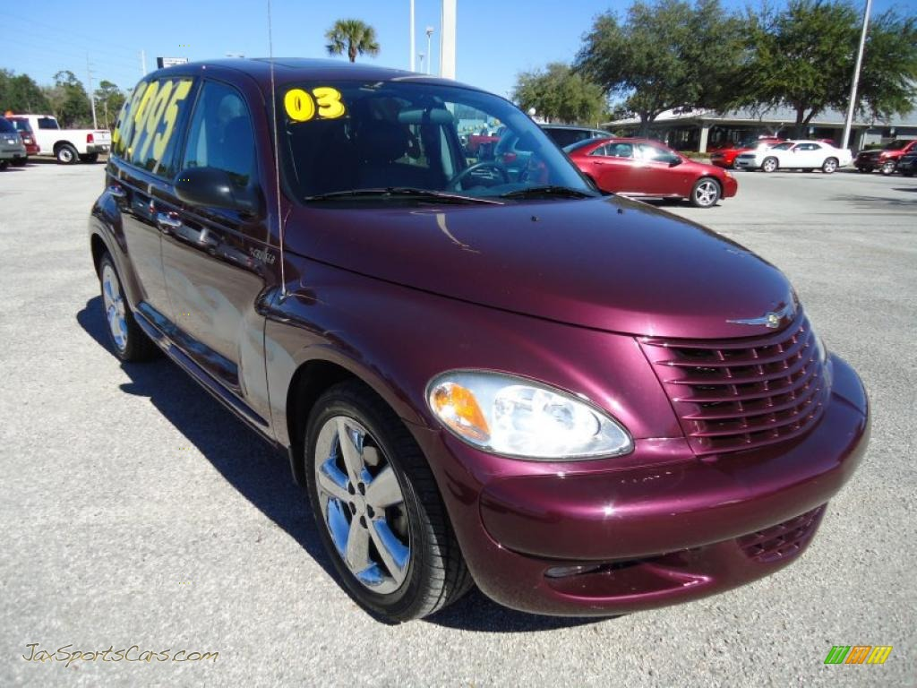 2003 Chrysler Pt Cruiser Gt In Deep Cranberry Pearl Photo