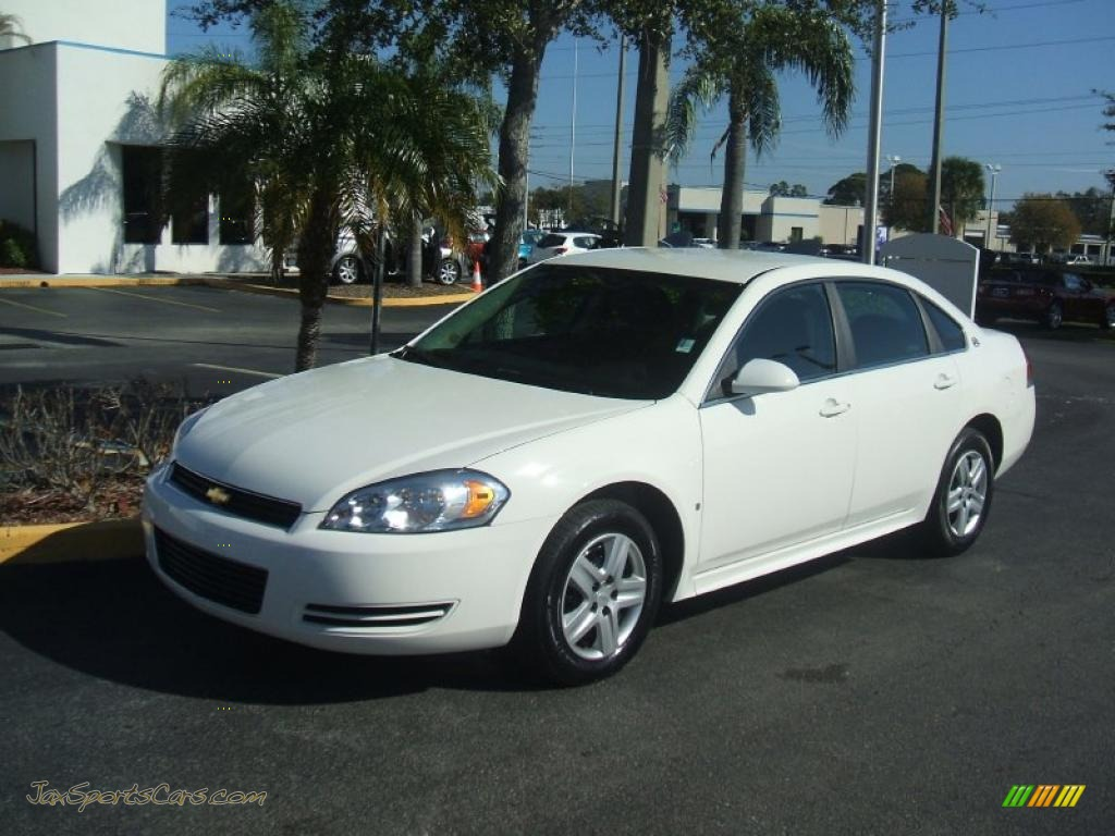 2009 Chevrolet Impala LS in White - 217359 | Jax Sports ...