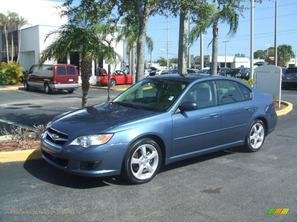 2008 subaru legacy sedan in newport blue pearl. Black Bedroom Furniture Sets. Home Design Ideas