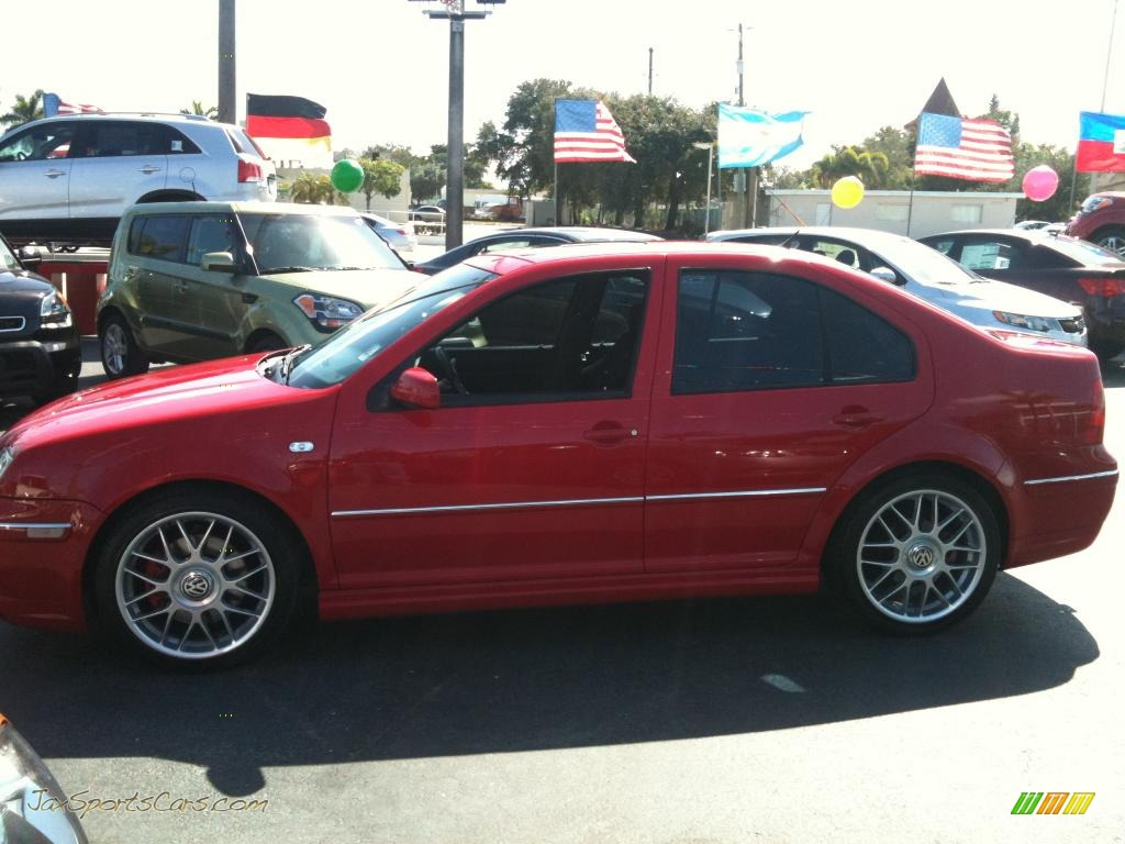 2005 volkswagen jetta gli sedan in tornado red photo 6 062296 jax sports cars cars for. Black Bedroom Furniture Sets. Home Design Ideas