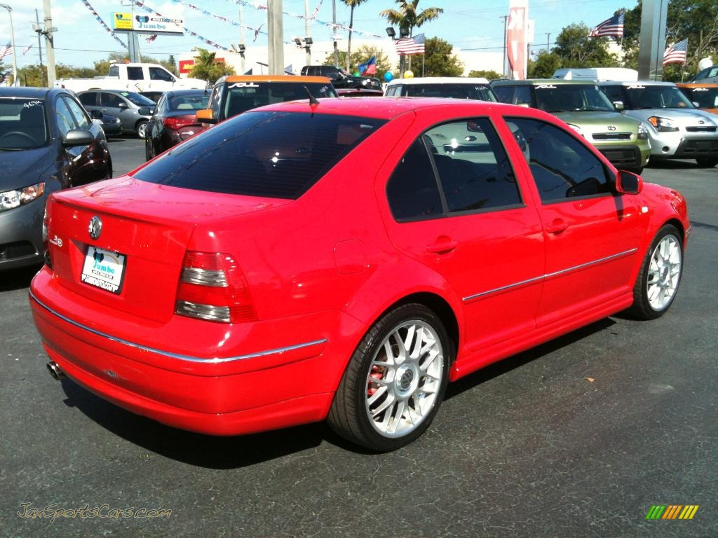 2005 volkswagen jetta gli sedan in tornado red photo 10 062296 jax sports cars cars for. Black Bedroom Furniture Sets. Home Design Ideas