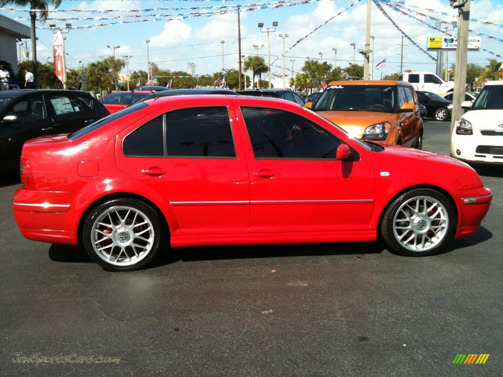 2005 volkswagen jetta gli sedan in tornado red photo 11 062296 jax sports cars cars for. Black Bedroom Furniture Sets. Home Design Ideas