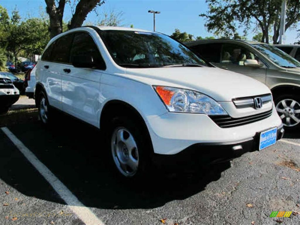 2009 honda cr v lx in taffeta white 703480 jax sports cars cars for sale in florida. Black Bedroom Furniture Sets. Home Design Ideas