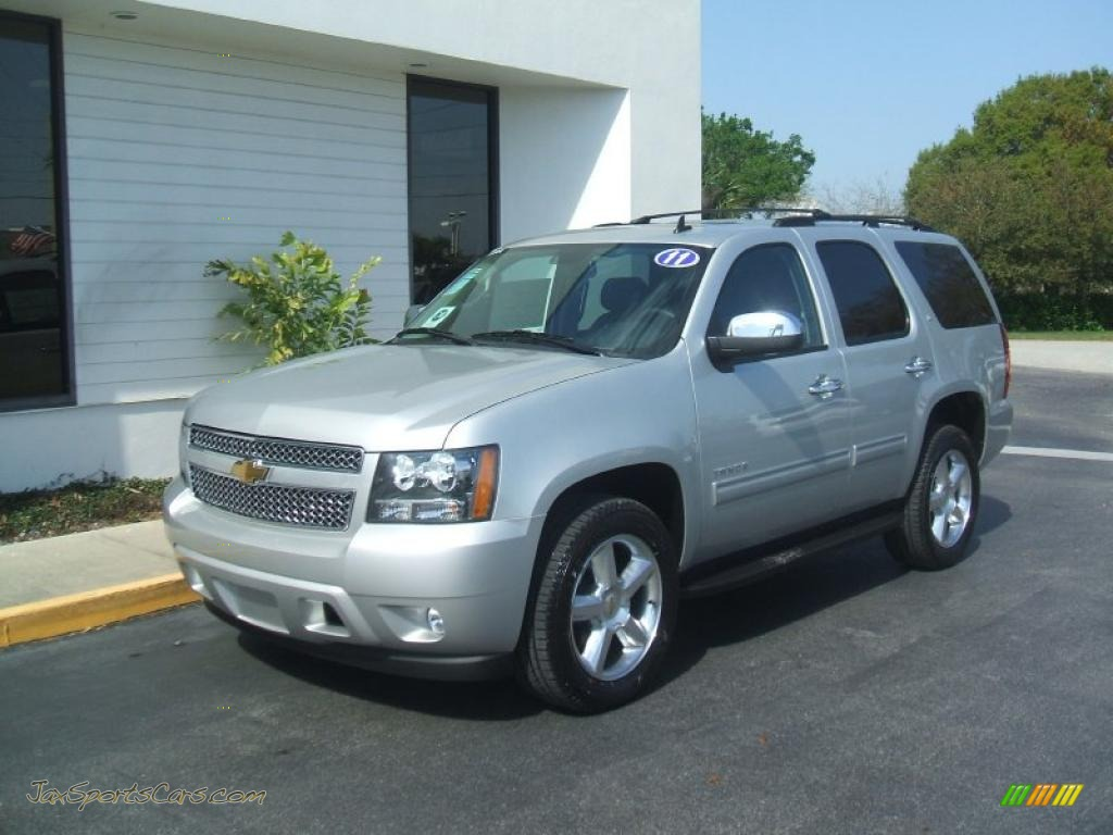 2011 Chevrolet Tahoe Lt In Sheer Silver Metallic 236491