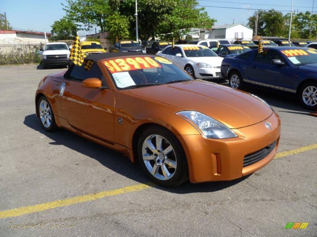 2004 Nissan 350Z Touring Roadster in Le Mans Sunset Metallic ...