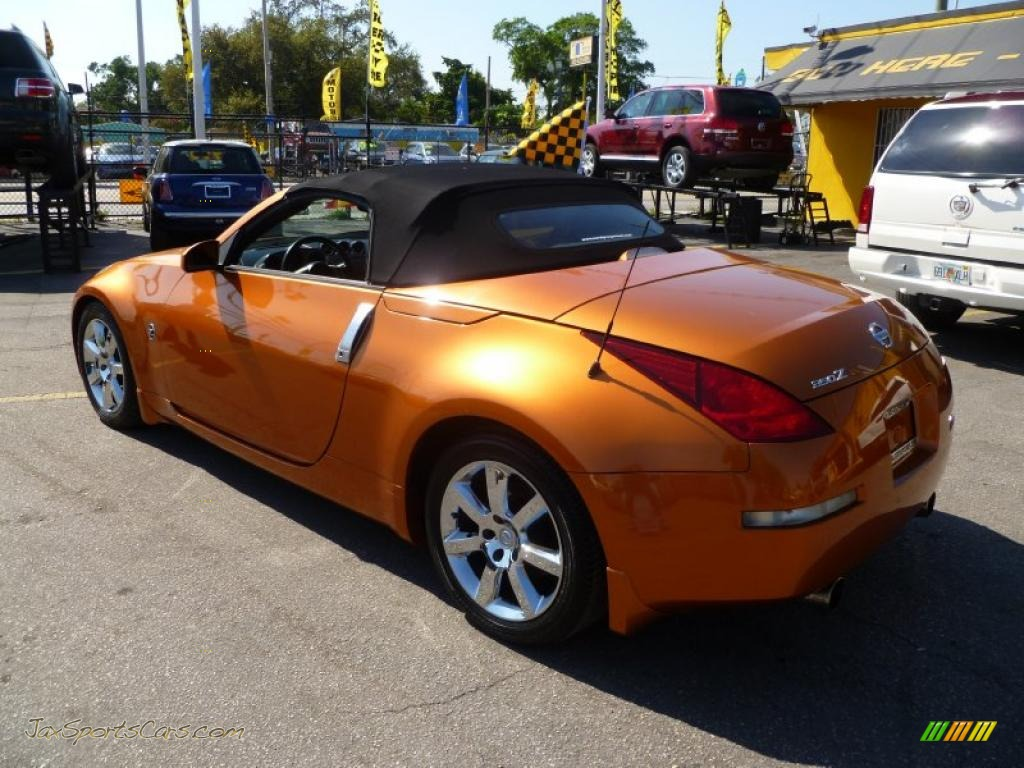 2004 nissan 350z touring roadster in le mans sunset metallic photo 2004 350z touring roadster le mans sunset metallic burnt orange photo 4 vanachro Images