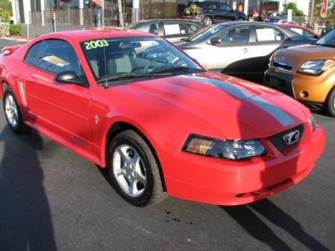 2012 mustang v6 coupe. 2003 Ford Mustang V6 Coupe