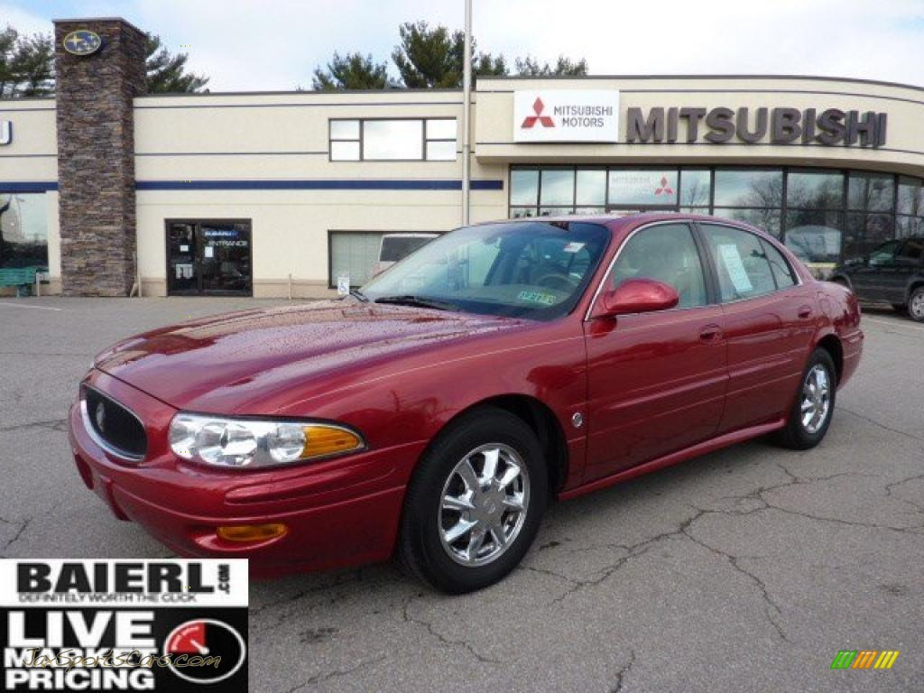 2005 buick lesabre limited in crimson red pearl metallic. Black Bedroom Furniture Sets. Home Design Ideas