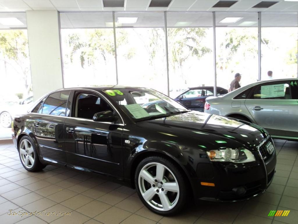 2008 audi a4 2 0t special edition quattro sedan in brilliant black 134310 jax sports cars. Black Bedroom Furniture Sets. Home Design Ideas