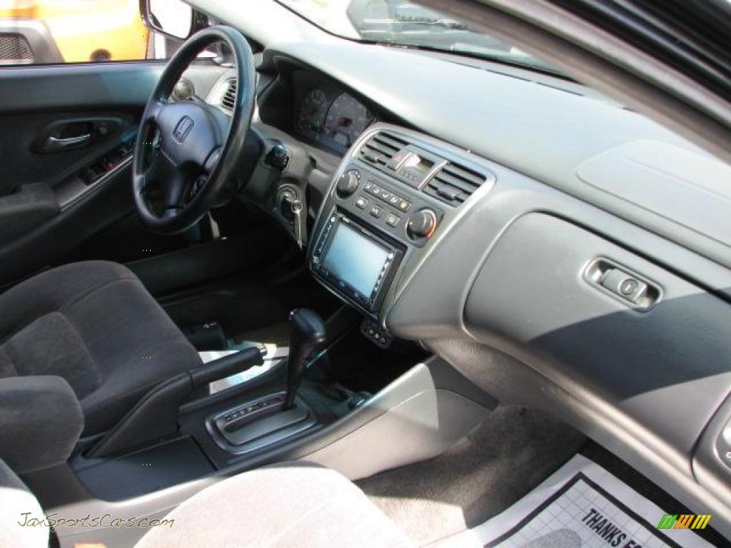 2002 Honda Accord Ex Coupe In Nighthawk Black Pearl Photo