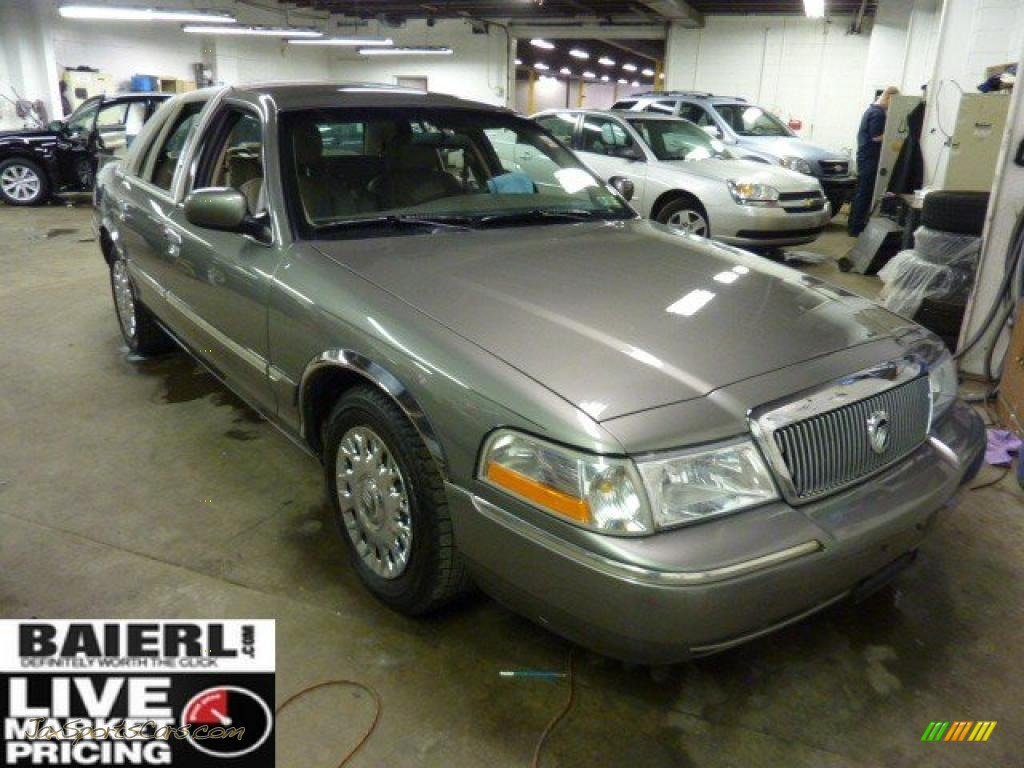 2003 mercury grand marquis gs in spruce green metallic 622598 jax sports cars cars for. Black Bedroom Furniture Sets. Home Design Ideas