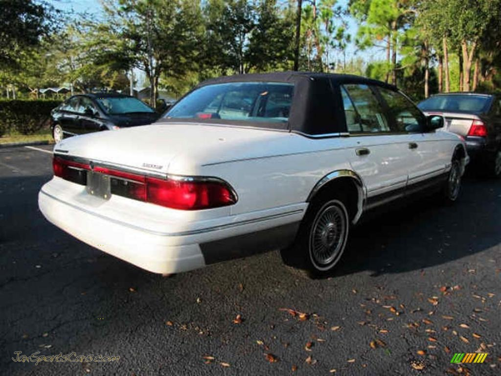 1997 mercury grand marquis gs in vibrant white photo 2 613250 jax sports cars cars for. Black Bedroom Furniture Sets. Home Design Ideas