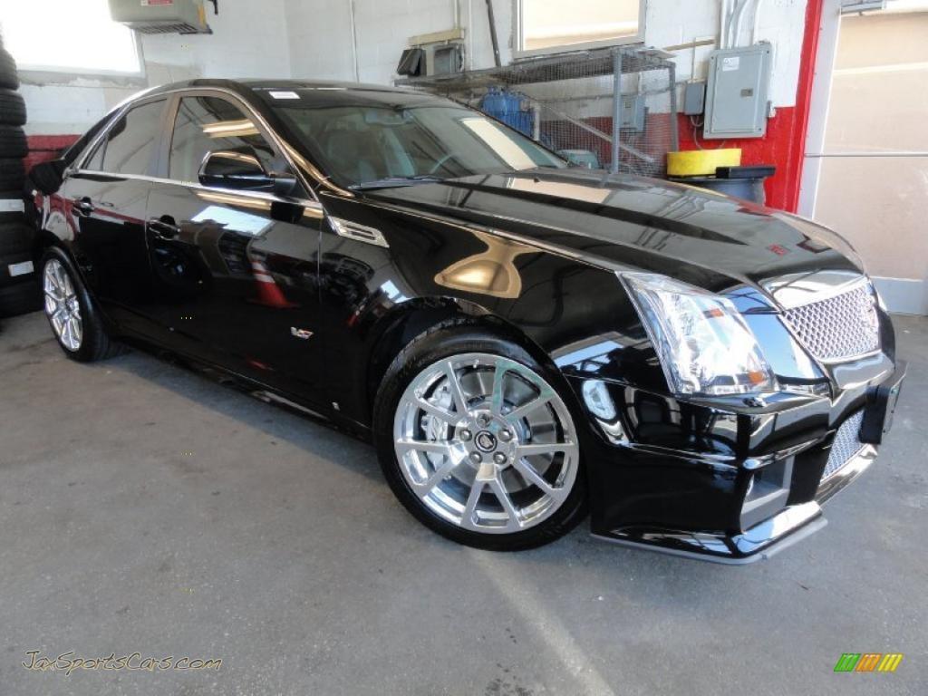 2009 cadillac cts v sedan in black raven 164607 jax sports cars cars for sale in florida. Black Bedroom Furniture Sets. Home Design Ideas