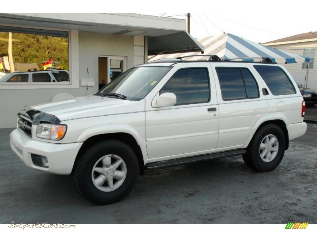 2001 nissan pathfinder le 4x4 in aspen white pearlglow. Black Bedroom Furniture Sets. Home Design Ideas
