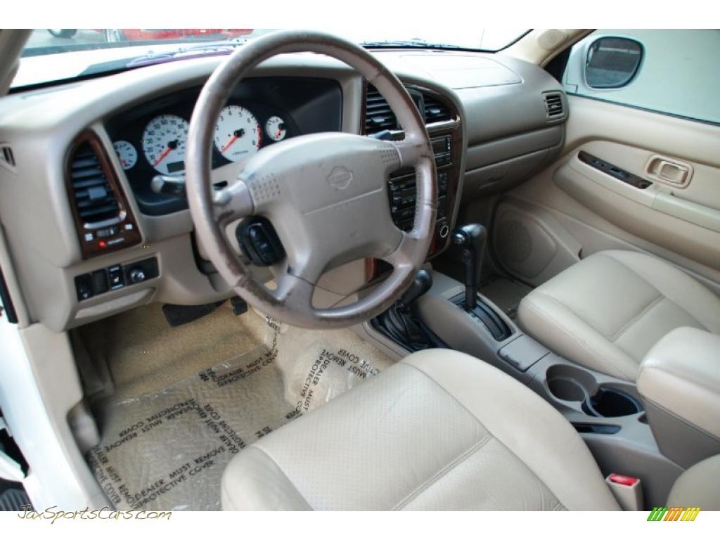 2001 Nissan Pathfinder Le 4x4 In Aspen White Pearlglow