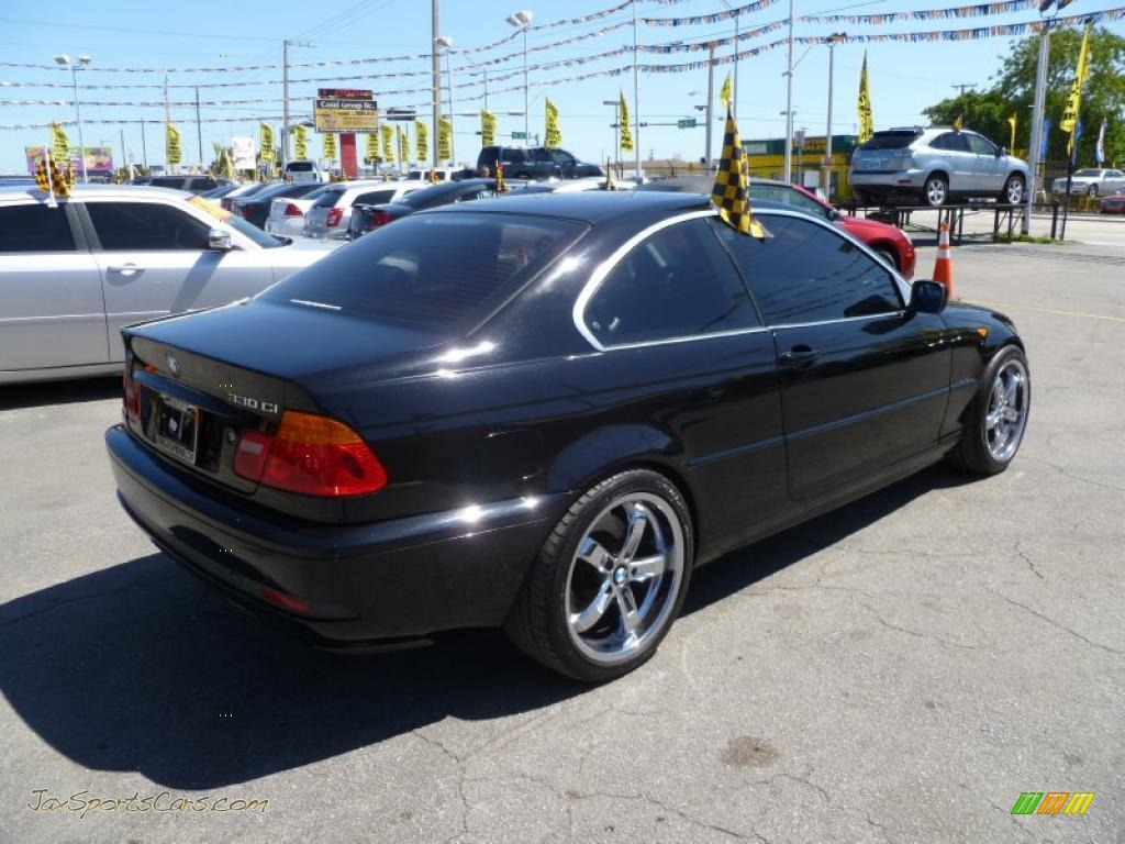2004 bmw 3 series 330i coupe in jet black photo 6 d96130 jax sports cars cars for sale in. Black Bedroom Furniture Sets. Home Design Ideas