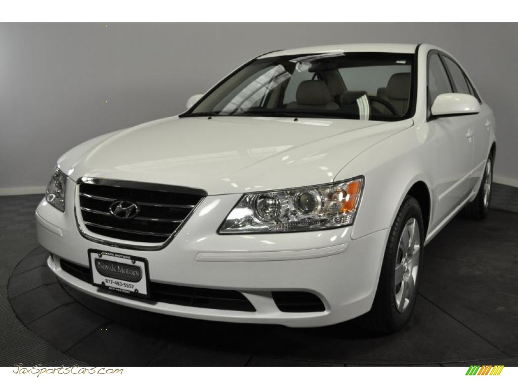 2009 Hyundai Sonata Gls In Powder White Pearl 410845 Jax Sports Cars Cars For Sale In Florida