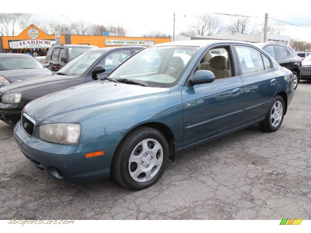 2003 Hyundai Elantra Gls Sedan In Ocean Blue 636439