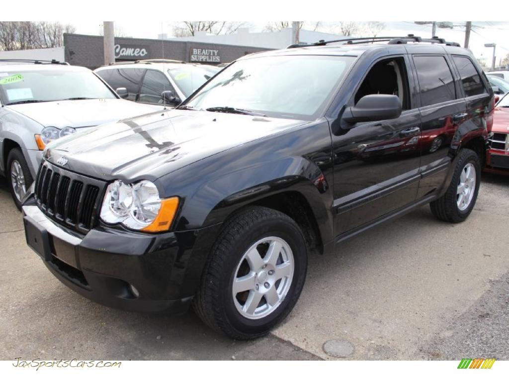 2008 Jeep Grand Cherokee Laredo 4x4 In Black 223911