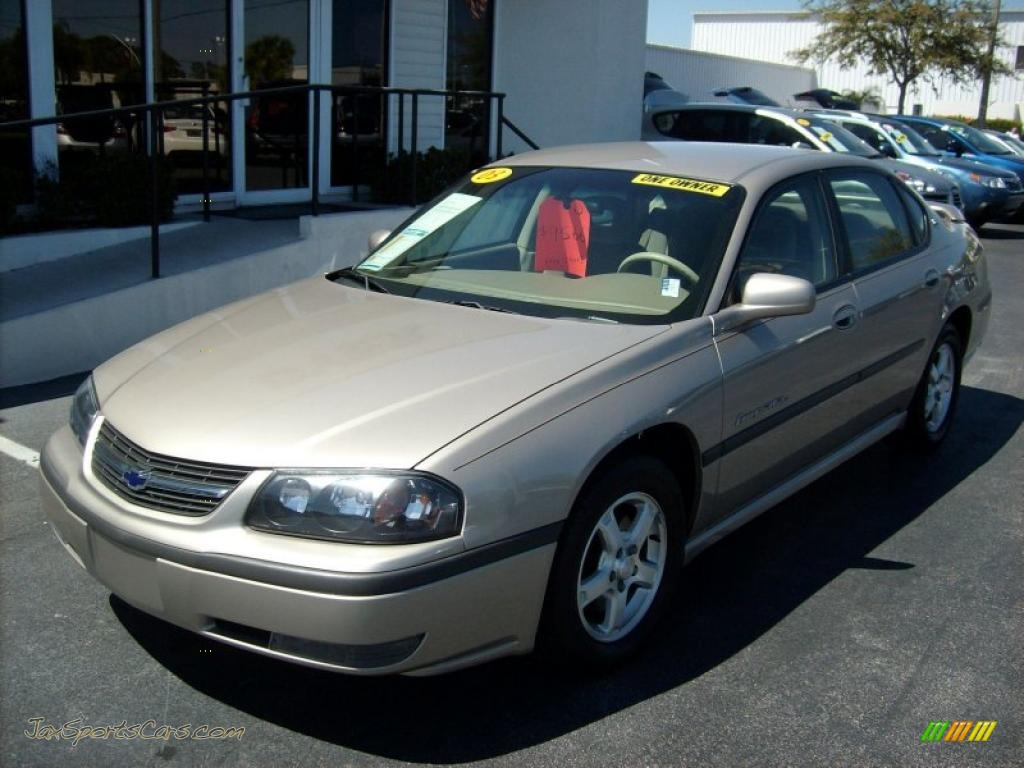 2003 chevrolet impala ls in sandrift metallic 151636 jax sports cars ca. Cars Review. Best American Auto & Cars Review