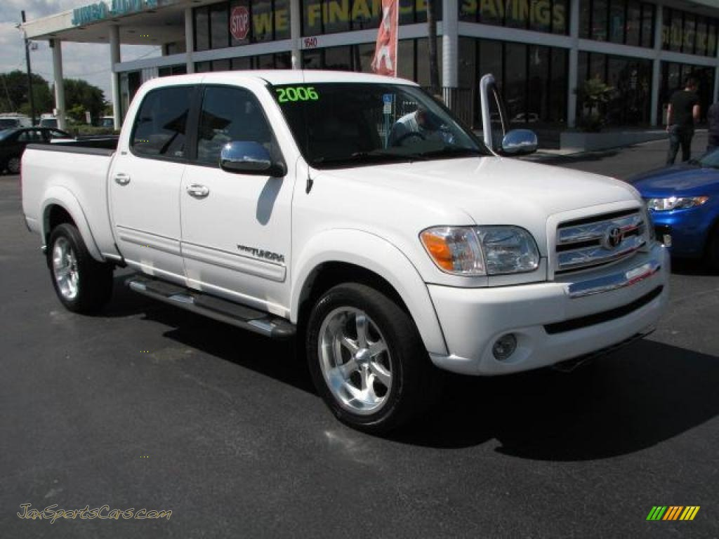 2006 toyota tundra sr5 x sp double cab in natural white 521083 jax sports cars cars for. Black Bedroom Furniture Sets. Home Design Ideas