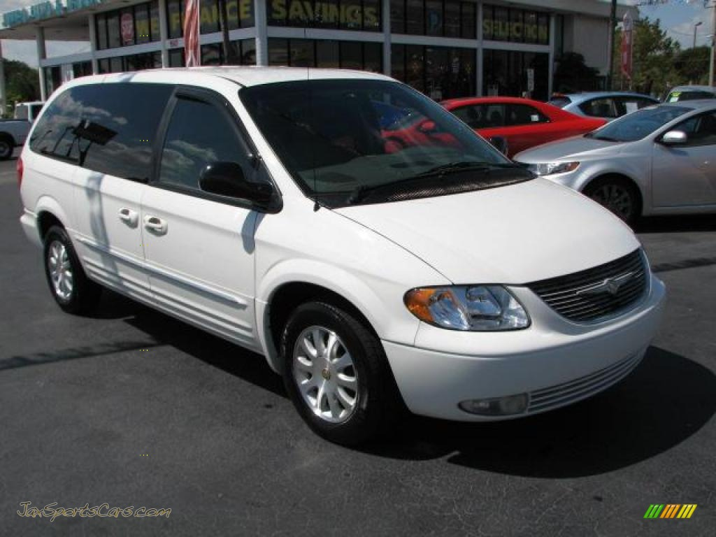 2002 chrysler town country lxi in stone white clearcoat 513196 jax sports cars cars for. Black Bedroom Furniture Sets. Home Design Ideas
