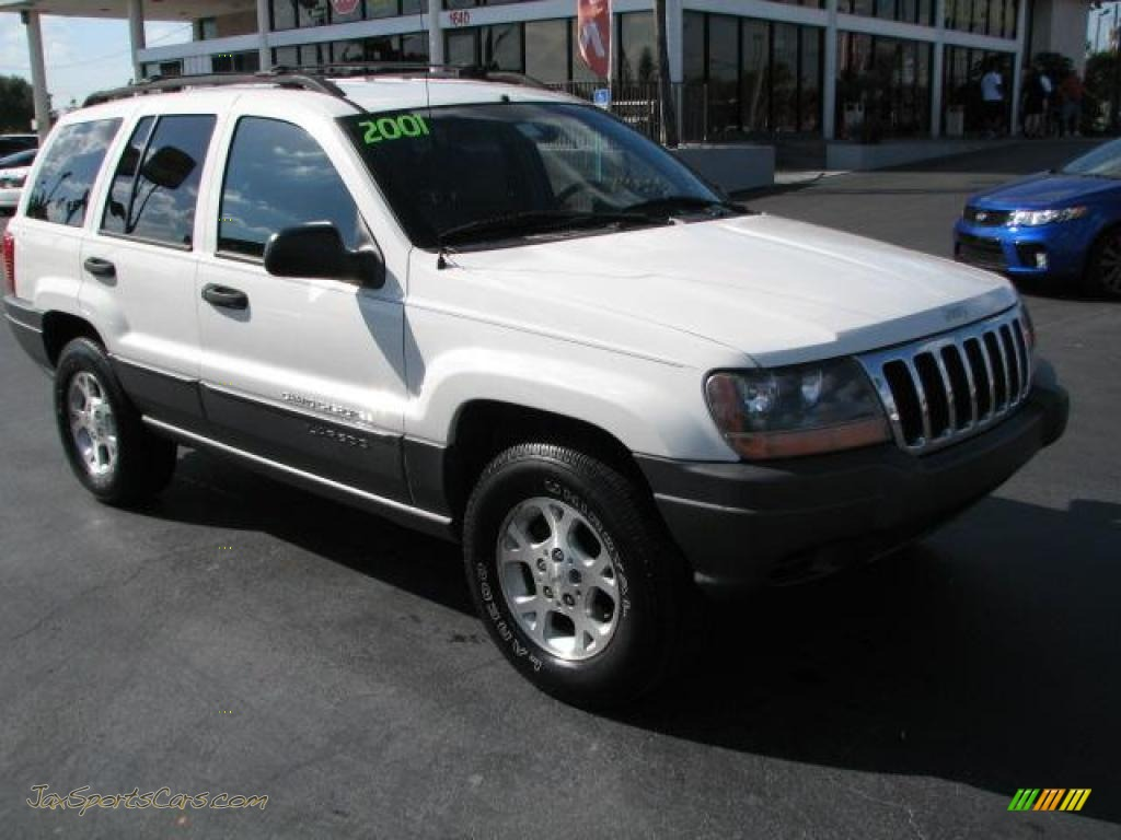 2001 jeep grand cherokee laredo 4x4 in stone white for Jeep grand cherokee laredo motor