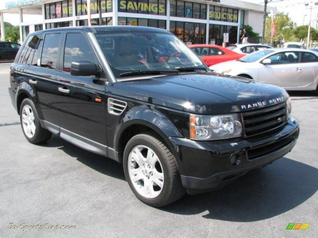 2006 land rover range rover sport hse in java black. Black Bedroom Furniture Sets. Home Design Ideas