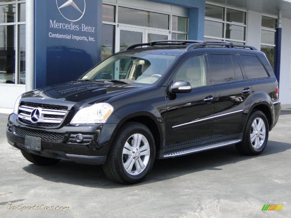 2008 mercedes benz gl 450 4matic in obsidian black for Mercedes benz 450 gl for sale
