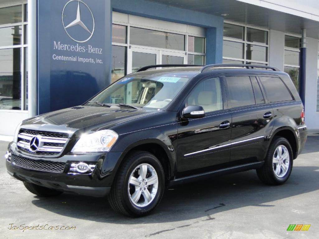 2007 Mercedes Benz Gl 450 In Black 210213 Jax Sports