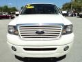 Ford F150 Limited SuperCrew 4x4 White Sand Tri-Coat photo #16