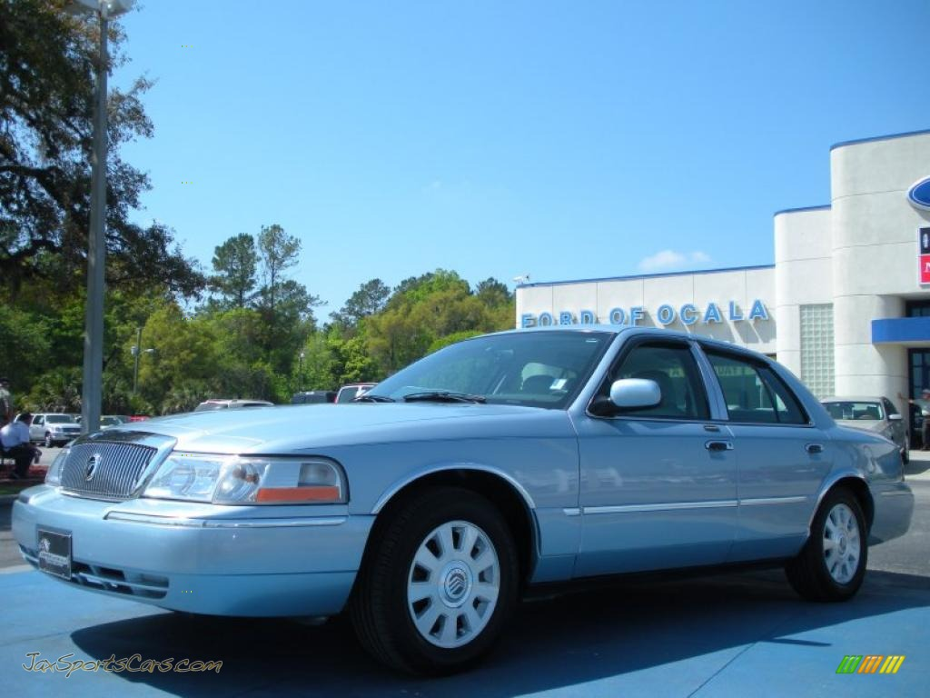2003 mercury grand marquis ls in light ice blue metallic 711575 jax sports cars cars for. Black Bedroom Furniture Sets. Home Design Ideas