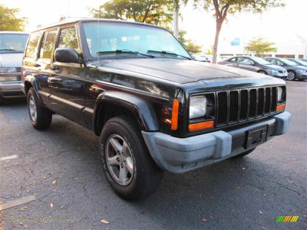 2001 jeep cherokee sport in black 535746 jax sports cars cars. Cars Review. Best American Auto & Cars Review