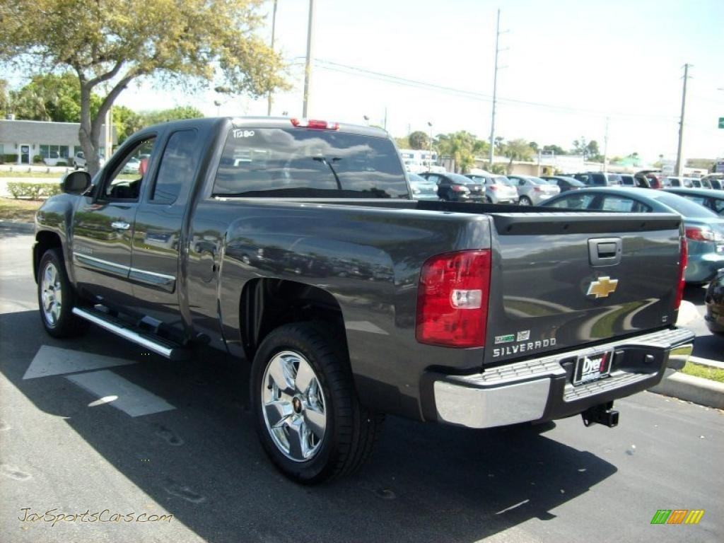 2011 chevrolet silverado 1500 lt extended cab in taupe gray metallic photo 2 264383 jax. Black Bedroom Furniture Sets. Home Design Ideas